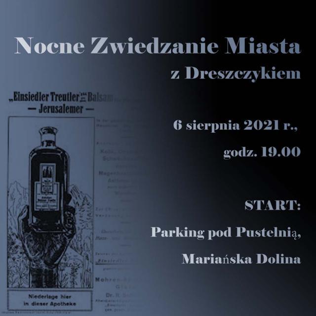 Nocne Zwiedzanie Miasta z Dreszczykiem